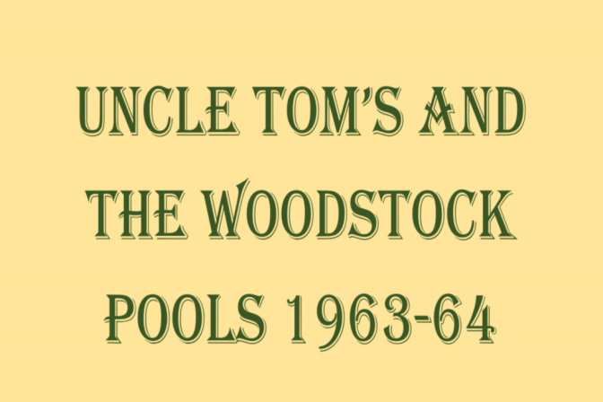 Uncle Tom's/Woodstock Swimming Pools